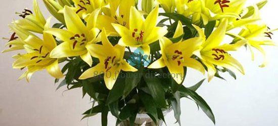 Mẫu cắm hoa ly đẹp